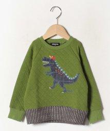 kladskap/サガラ恐竜キルトトレーナー/502702078