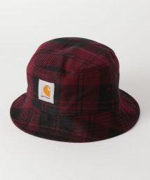 green label relaxing/[カーハート] SC★CARHARTT チェック ハット / バケットハット/502708037