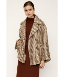 SLY/ROVING CHECK OVER COCOON COAT/502724150