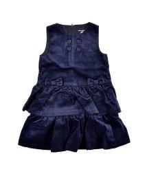 BeBe/リブレスコールリボンジャンパースカート/502646630