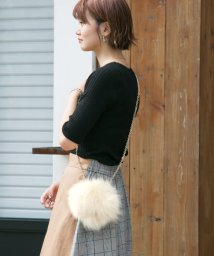 URBAN RESEARCH OUTLET/【URSELECT】FOXファーがま口ポーチ/502680231