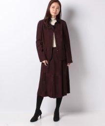 Leilian/【ROCHAS】マルチ柄スーツ/501236056