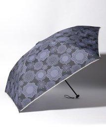 Afternoon Tea LIVING/フラワーレース晴雨兼用軽量折りたたみ傘 雨傘/502550399