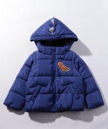 kladskap/恐竜フード袖着脱 中綿入りブルゾン/502702075