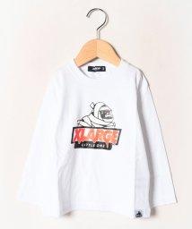 XLARGE KIDS/包帯OGゴリラプリントTシャツ/502702110
