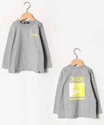 XLARGE KIDS/斜めOGゴリラプリントTシャツ/502702111