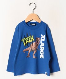 XLARGE KIDS/【ジュラシック・パーク】 たてロゴTシャツ/502702112
