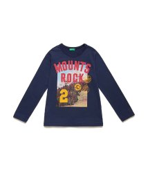 BENETTON (UNITED COLORS OF BENETTON BOYS)/マウンテンプリントTシャツ・カットソー/502704705