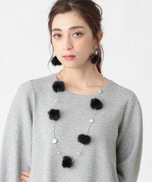 TO BE CHIC/ぽんぽんネックレス/502726321