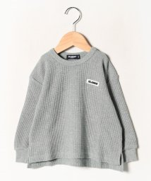 XLARGE KIDS/ワンポイントロゴワッフルTシャツ/502713645
