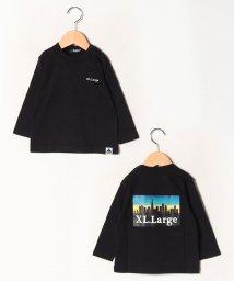 XLARGE KIDS/風景プリントTシャツ/502713647