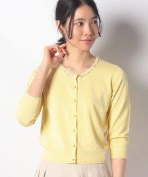 Debut de Fiore/【美人百花5月号掲載】ビーズ刺繍七分袖カーディガン/502727384