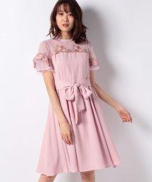 LAISSE PASSE/ハイネック刺繍ドレス/502727879
