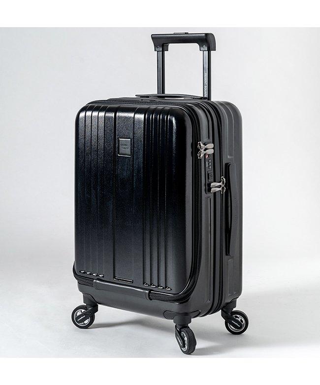 カバンのセレクション リージェントスクエア スーツケース 機内持ち込み フロントオープン 軽量 Sサイズ 39L キャスター交換 ユニセックス ブラック フリー 【Bag & Luggage SELECTION】