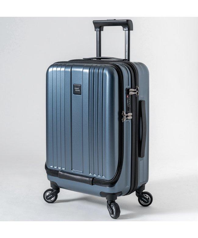 カバンのセレクション リージェントスクエア スーツケース 機内持ち込み フロントオープン 軽量 Sサイズ 39L キャスター交換 ユニセックス ネイビー フリー 【Bag & Luggage SELECTION】
