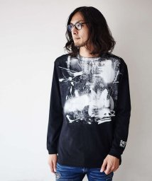 5351POURLESHOMMES/【CBA×5351POUR LES HOMMES】ロングTシャツビッグプリント/502738153