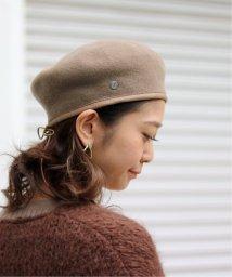 SLOBE IENA/【LAULHERE】 SLOBE別注 パイピングレザーベレー帽/502738216