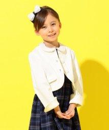 KUMIKYOKU KIDS/【110-140cm】グログランノーカラー ジャケット/502738479