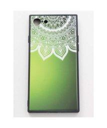 CAYHANE/【チャイハネ】iPhone8/7兼用ガラス製スマホケース 曼荼羅 グリーン/502274970
