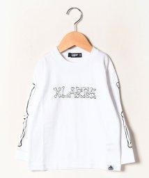 XLARGE KIDS/スケルトンロゴTシャツ/502718850