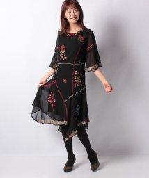 Desigual/WOMAN WOVEN DRESS 3/4 SLEEVE/502721194