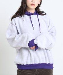 DOUBLE NAME/裏起毛パーカープルオーバー/502725228
