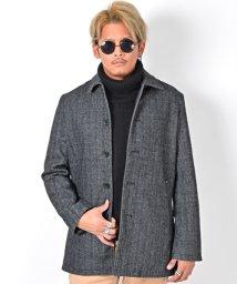 LUXSTYLE/ウールステンカラーコート/ステンカラーコート メンズ コート ウール BITTER ビター系 冬/502738900