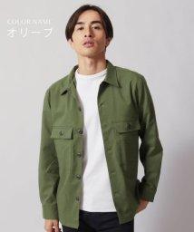 THE CASUAL/(アップスケープオーディエンス) Upscape Audience 日本製ギャバジンストレッチM-45ジャケット/502738919
