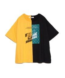 FURFUR/シャイニングハーフTシャツ/502741266