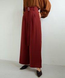marjour/BAKED COLOR PANTS/502741307