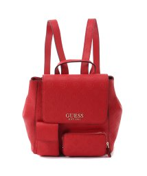 GUESS/ゲス GUESS ILENIA POCKET BACKPACK (RED)/502743721