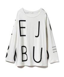 gelato pique/【Joel Robuchon & gelato pique】ロゴロングスリーブTシャツ/502743855