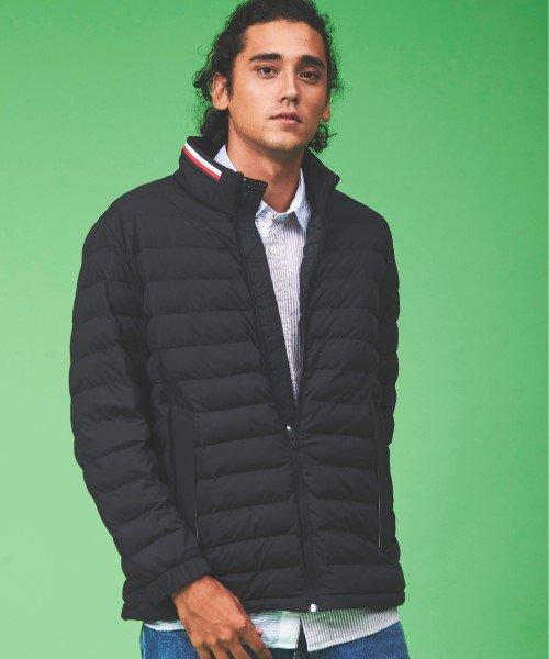 中綿パデッドキルティングジャケット
