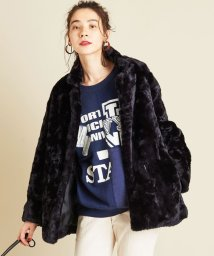 BEAUTY&YOUTH UNITED ARROWS/BY∴ フェイクファーミドル丈コート/502716914