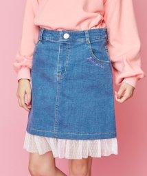 JENNI love/裾チュールデニムスカート/502743308