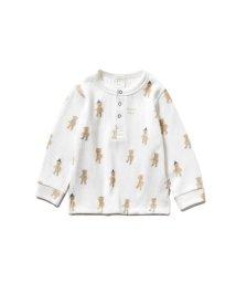 gelato pique Kids&Baby/【BABY】テディベア baby ボーイズプルオーバー/502745200
