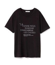 GELATO PIQUE HOMME/【Joel Robuchon & gelato pique】 HOMME ロゴTシャツ/502745215