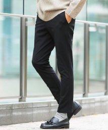 JIGGYS SHOP/強撚糸スリムパンツ / スリムパンツ メンズ テーパード パンツ きれいめ ストレッチ/502745406