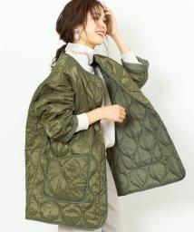 coen/キルティングビッグジャケット(コート/アウター/中綿)/502745750