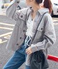 WEGO/WEGO/【セットアップ対応商品】ビッグシルエットコーデュロイCPOシャツジャケット/502427493