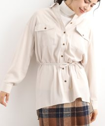 ViS/【新色追加】【セットアップ対応商品】フラップポケットつきチュニックシャツ/502574832