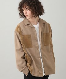 JUNRed/コール切替オープンカラーシャツ/502637224