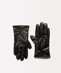 SISLEY/フェイクレザーミクロドットグローブ・手袋/502737977