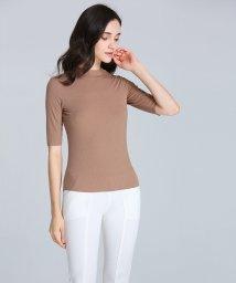 ALWAYS/シームレスインナー[AIR COOL] ハイネック 五分袖Tシャツ/502746641