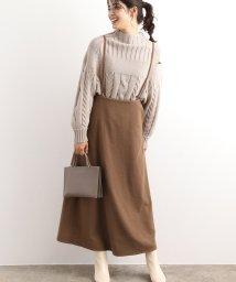 ViS/【WEB限定】バックリボンジャンパースカート/502747564