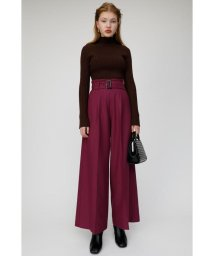 moussy/BELTED WIDE パンツ/502748003