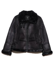GUESS/ゲス GUESS DOUBLE FACED JACKET (BLACK)/502749950