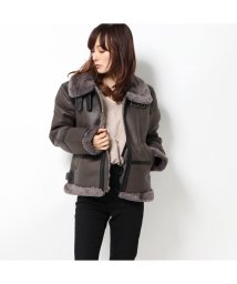 GUESS/ゲス GUESS DOUBLE FACED JACKET (GREY)/502749951