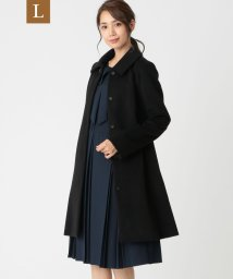 TO BE CHIC(L SIZE)/【L】ウールアンゴラビーバーコート/502750545
