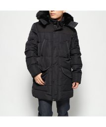 GUESS/ゲス GUESS WINTER PUFFER PARKA JACKET (JET BLACK)/502751557